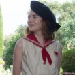 Astrology: Fashion: Emma Stone's Red Sailor Suit in 'Magic in the Moonlight'